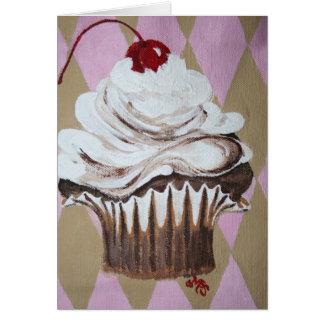 Cartão Cupcake gostoso