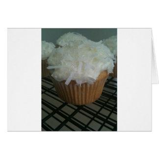 Cartão Cupcakes do coco!