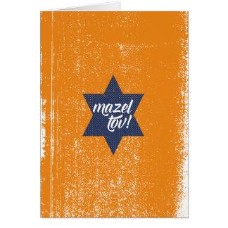 Cartão Cursive de Mazel Tov