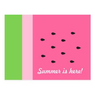 Cartão customizável do divertimento do verão da