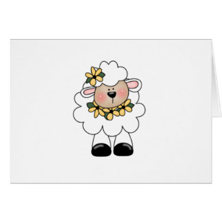 Cartão customlambflowers