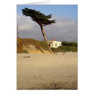 Cartão Cypress e casa Windblown
