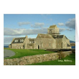 Cartão da abadia de Iona