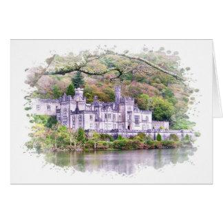 Cartão da abadia de Kylemore