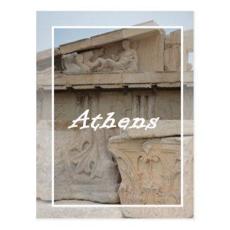 Cartão da acrópole de Atenas