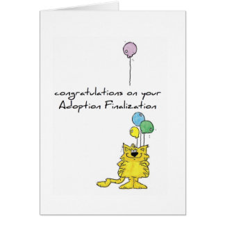cartão da adopção