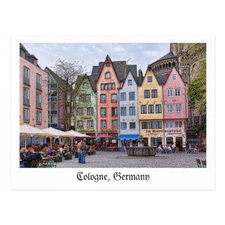 Cartão da água de Colônia, Alemanha