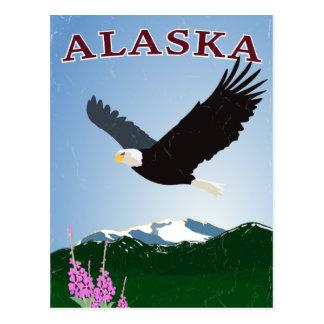Cartão da águia de Alaska