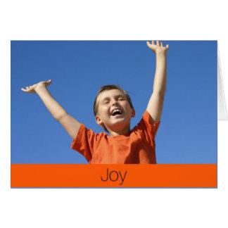 Cartão da alegria