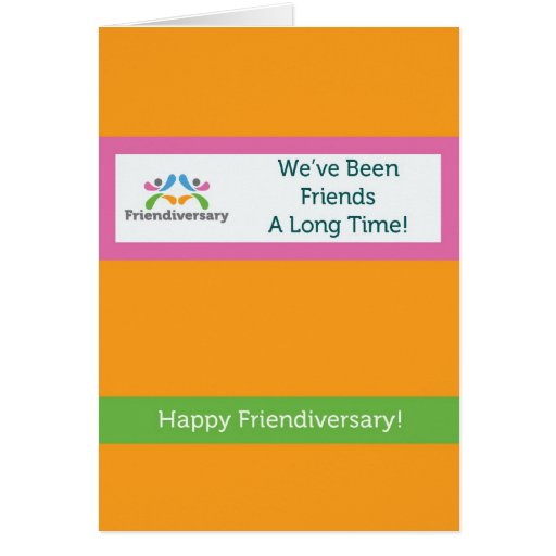 Cartão da amizade