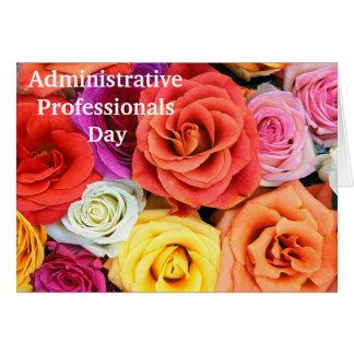 Cartão da apreciação para profissionais