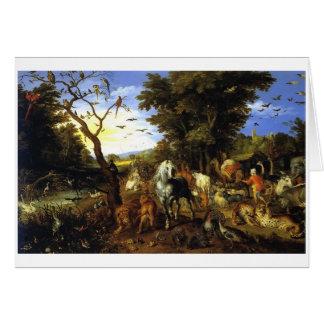 Cartão da arca de Noah