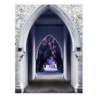 Cartão da arcada da igreja
