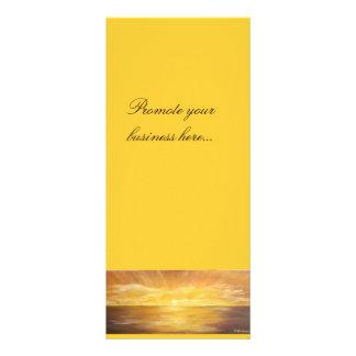 cartão da arte 10.16 x 22.86cm panfleto