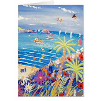 Cartão da arte: A baía de Ivey da mãe do