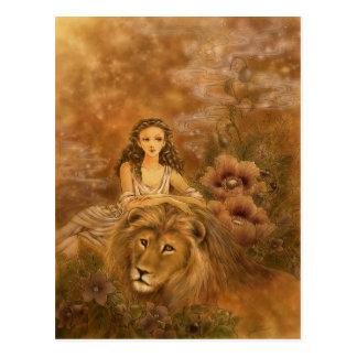 Cartão da arte da fantasia - Circe