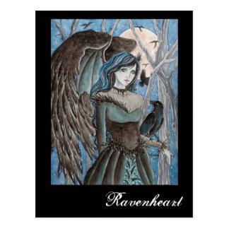 Cartão da arte da fantasia de Ravenheart