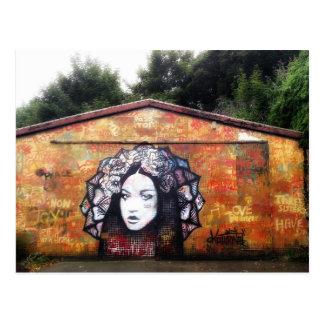 Cartão da arte da rua