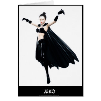 Cartão da arte de Aiko