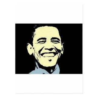 Cartão da arte de Barack Obama Cartão Postal