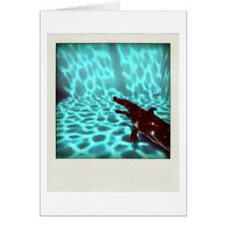 Cartão da arte de computador do flou 3d da piscina
