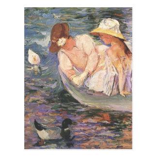 Cartão da arte de Mary Cassatt