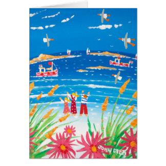 Cartão da arte: Dias de Scilly. Ilhas de Scilly