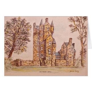 Cartão da arte do castelo de Ballymena por Joanne