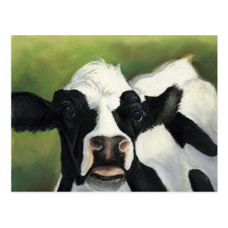 Cartão da arte do Fim-Acima da vaca