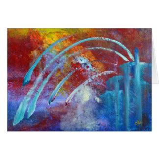 """Cartão da arte dos """"Snowbirds"""""""