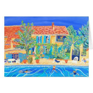 Cartão da arte: Feriados em Provence