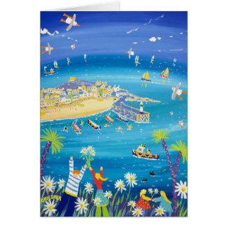 Cartão da arte: Margaridas de ondulação, St Ives