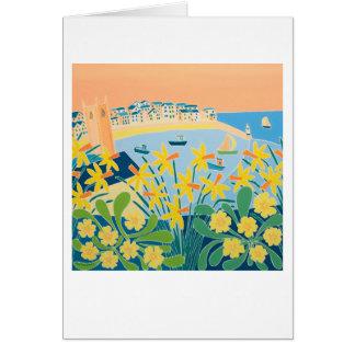 Cartão da arte: Uma explosão dos Daffodils, St