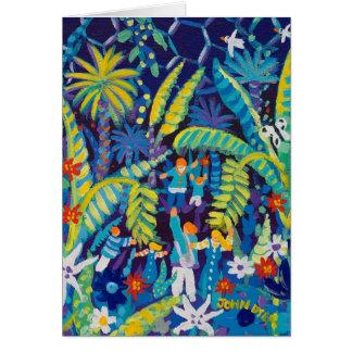 Cartão da arte: Vale da selva, o projeto de Eden