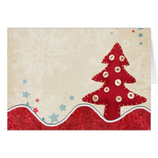 Cartão da árvore de Natal