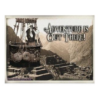 Cartão da aventura
