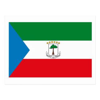 Cartão da bandeira da Guiné Equatorial