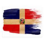 Cartão da bandeira da República Dominicana