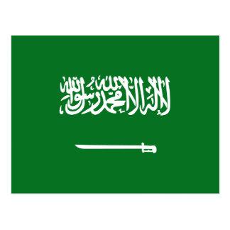 Cartão da bandeira de Arábia Saudita