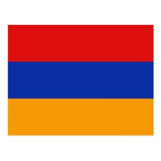Cartão da bandeira de Arménia