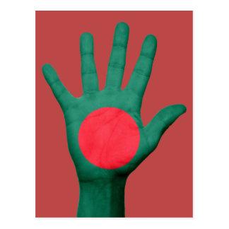 Cartão da bandeira de Bangladesh