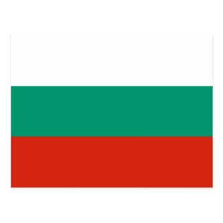 Cartão da bandeira de Bulgária
