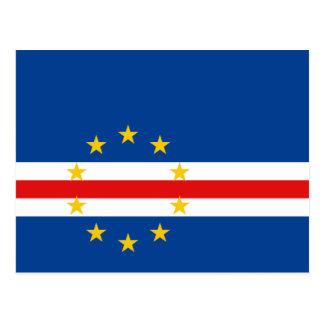 Cartão da bandeira de Cabo Verde