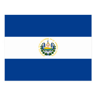 Cartão da bandeira de El Salvador Cartoes Postais