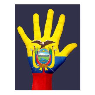 Cartão da bandeira de Equador