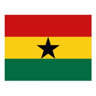 Cartão da bandeira de Ghana