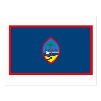Cartão da bandeira de Guam Cartão Postal