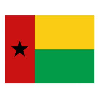 Cartão da bandeira de Guiné-Bissau