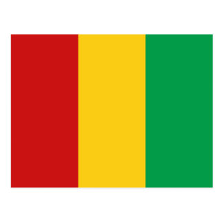Cartão da bandeira de Guiné-Conakry