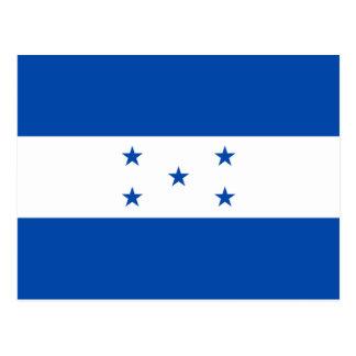 Cartão da bandeira de Honduras